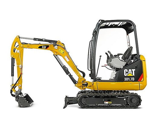 Caterpillar 301.7D MINI HYD EXCAVATOR Service Repair Manual LJ4