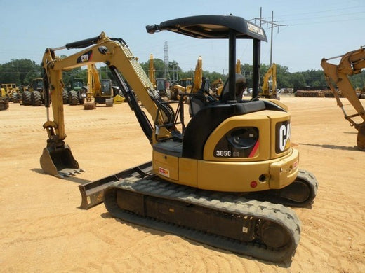 Caterpillar 305C CR MINI HYD EXCAVATOR Service Repair Manual HWJ