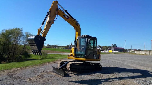 PDF Caterpillar 307D MINI HYD EXCAVATOR Service Repair Manual WZX