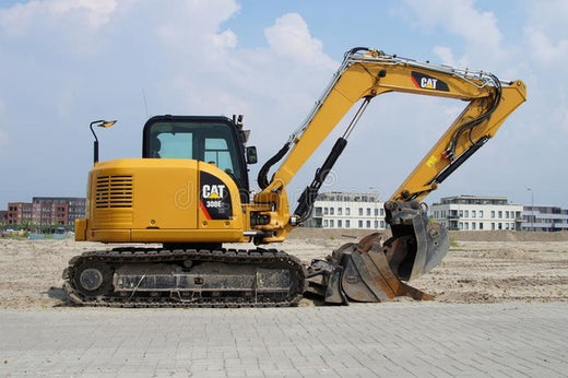 PDF Caterpillar 308E SR MINI HYD EXCAVATOR Service Repair Manual JSN