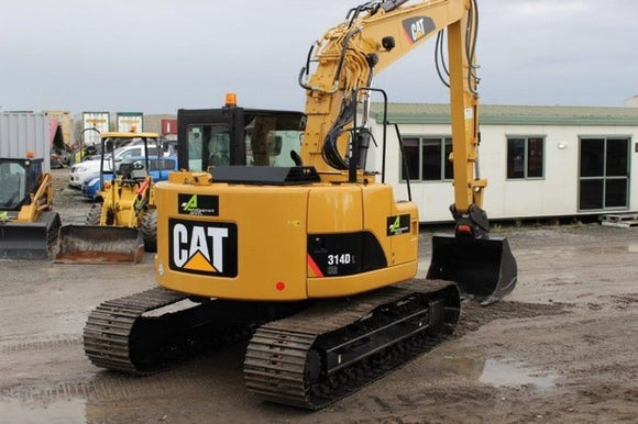 Caterpillar 314D LCR EXCAVATOR Service Repair manual XHR