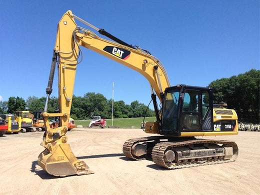 Caterpillar 315D L EXCAVATOR Service Repair Manual BYK