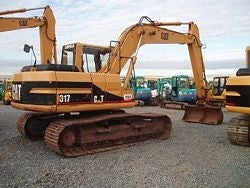 Caterpillar 317 EXCAVATOR Service Repair Manual 4MM