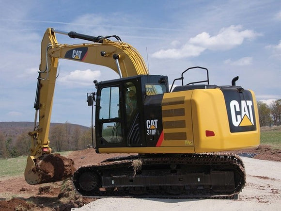 Caterpillar 318F L EXCAVATOR Service Repair Manual FFT
