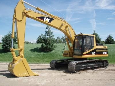 Caterpillar 320B EXCAVATOR Service Repair Manual 1XS