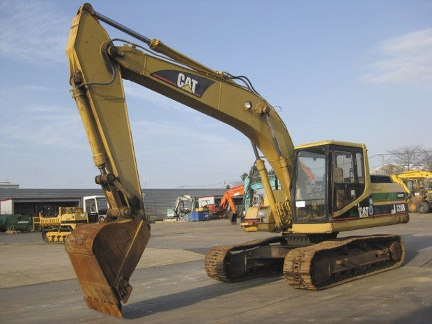 Caterpillar 320B EXCAVATOR Service Repair Manual 5BR