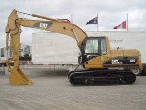 Caterpillar 320C EXCAVATOR Service Repair Manual ANB