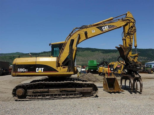 Caterpillar 320C FM EXCAVATOR Service Repair Manual SAH