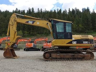 Caterpillar 320C FM EXCAVATOR Service Repair Manual TBR