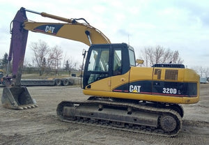 Cat 320DL EXCAVATOR Service Repair Manual Download