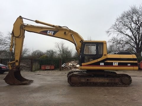 Cat 320N EXCAVATOR Service Repair Manual Download