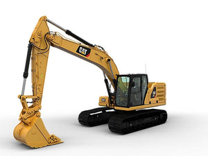 Caterpillar 320 EXCAVATOR Service Repair Manual 3XM