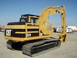 Caterpillar 320 EXCAVATOR Service Repair Manual 4ZJ