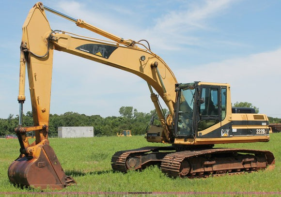 Caterpillar 322B L EXCAVATOR Workshop Service Repair Manual 1YS