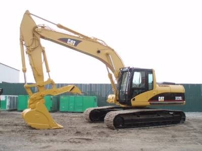 Caterpillar 322C EXCAVATOR Workshop Service Repair Manual BNY