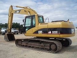 Caterpillar 322C EXCAVATOR Workshop Service Repair Manual DAA