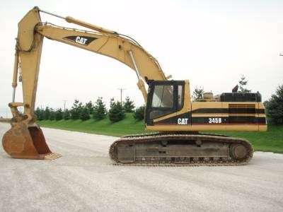 Caterpillar 345B EXCAVATOR Workshop Service Repair Manual 6XS