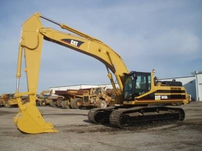 Caterpillar 345B II MH EXCAVATOR Workshop Service Repair Manual APB