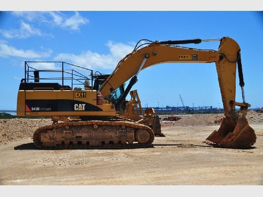 Caterpillar 345DL EXCAVATOR Workshop Service Repair Manual RAJ