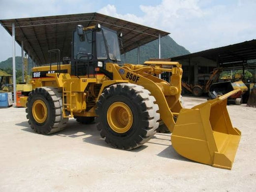 Caterpillar 950F WHEEL LOADER Workshop Service Repair Manual 7ZF