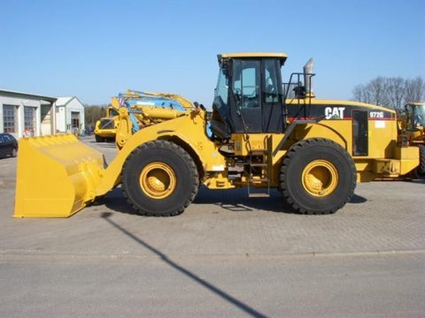 PDF Caterpillar 972G WHEEL LOADER Service Repair Manual 1EW