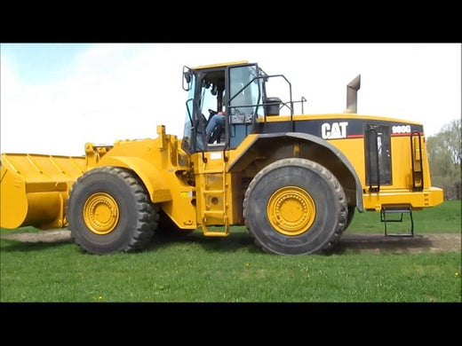 PDF Caterpillar 980G II WHEEL LOADER Service Repair Manual AXG