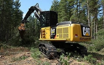 Caterpillar FB221 TRACK FELLER BUNCHER Service Repair Manual 8XD