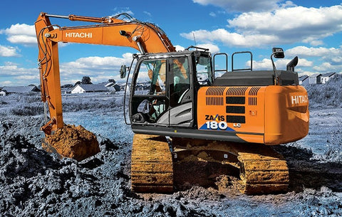 Download HITACHI Zaxis 180LC-6N Excavator Diagnostic, Operation and Test Service Manual TM14001X19