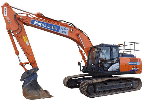 Download HITACHI Zaxis 210-6N and Zaxis 210LC-6N Excavator Service Repair TM13353X19