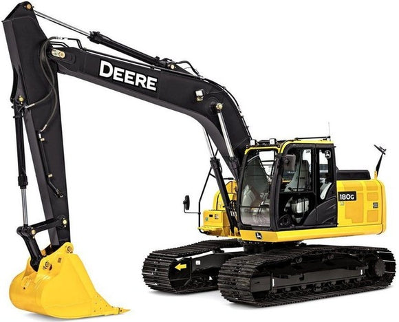 Download John Deere 180GLC Excavator Service Repair Technical Manual [TM13195X19]