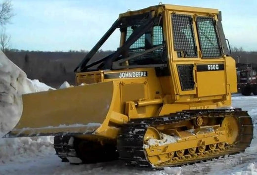 John Deere 450G, 550G, 650G, 455G, 555G Crawler Dozer Loader Service Repair Technical Manual TM1404