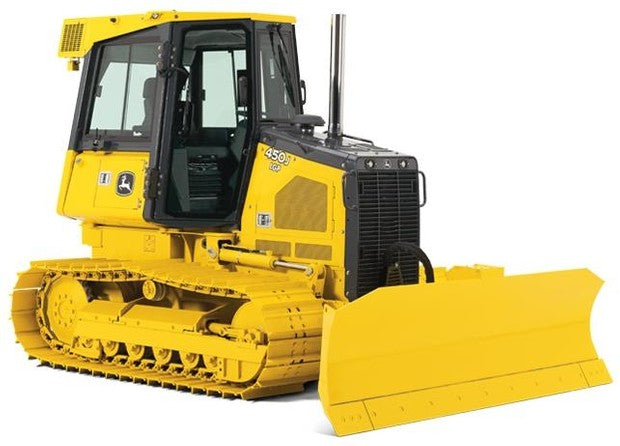 Download John Deere 450J, 550J, 650J Crawler Dozer TM10294 Service Manual