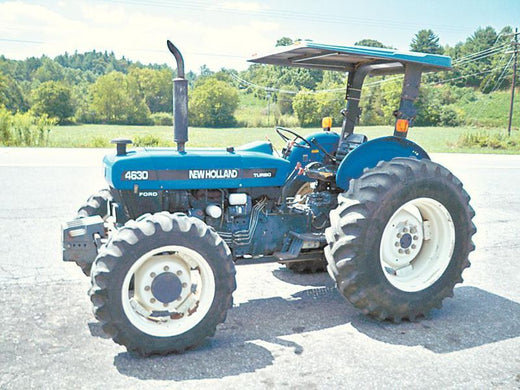 FORD NEW HOLLAND 4630 TRACTOR PARTS LIST MANUAL