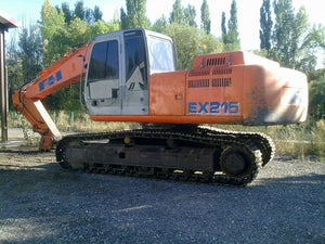Fiat Hitachi EX215 Excavator Service Repair Manual PDF