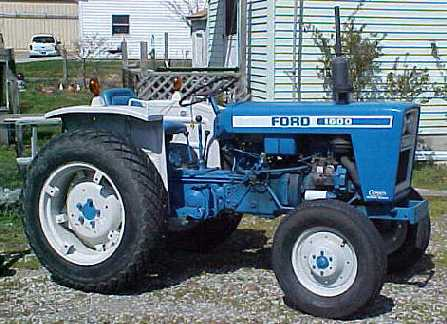 Ford New Holland 1600 Tractor Operators Manual