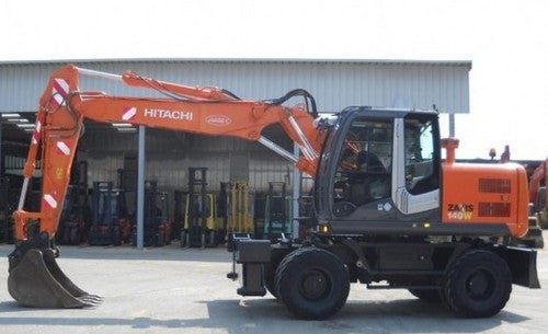 Hitachi Zaxis 140W-3 Excavator Complete Service Repair Manual PDF