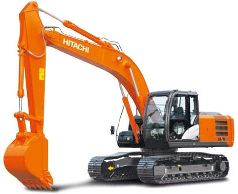 Hitachi Zaxis 330-3 Excavator Complete Service Repair Manual PDF