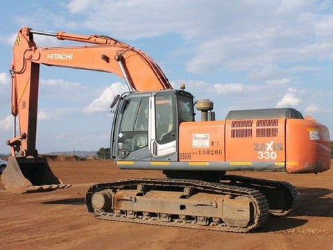 Hitachi Zaxis 330, 350, 370 Excavator Complete Service Repair Manual PDF