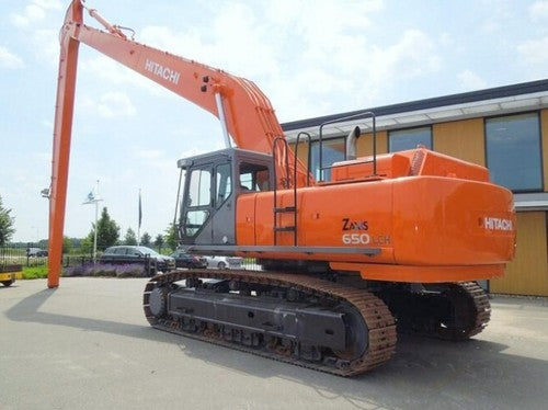 Hitachi Zaxis 650LC-3, 670LCH-3 Excavator Complete Service Repair Manual PDF