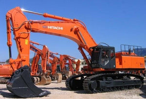 Hitachi Zaxis 850-3, 870-3 Excavator Complete Service Repair Manual PDF