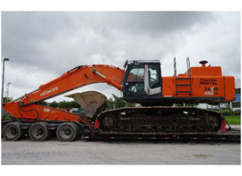 Hitachi Zaxis ZX450-3, ZX450LC-3, ZX470H-3, ZX470LCH-3, ZX500LC-3, ZX520LCH-3 Hudraulic Excavator Technical Manual