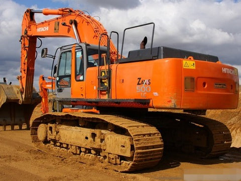 Hitachi Zaxis ZX450-3, ZX450LC-3, ZX470H-3, ZX470LCH-3, ZX500LC-3, ZX520LCH-3 Hydraulic Excavator Operator's Manual