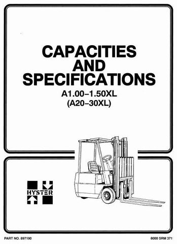 Hyster Manual Download PDF