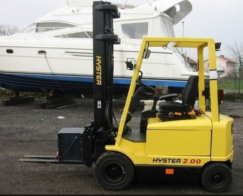 Hyster J160 (J1.60 XMT-2.00XMT) Forklift Workshop Service Repair Manual J160A06039E