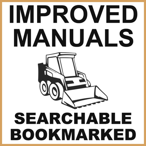 IH Case 40XT Skid Steer Service Repair Manual & Engine Service Manual - IMPROVED - DOWNLOAD