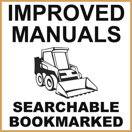 IH Case 60XT Skid Steer Service Repair Manual & Engine Service Manual - IMPROVED - DOWNLOAD