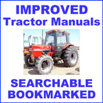 IH Case 85 Series Tractor Factory Service Manual & Operators Instruction Manual - IMPROVED - DOWNLOAD