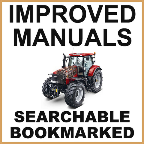 IH Case Puma 165 180 195 210 tractor Service Repair Manual & Operators Manual - IMPROVED - DOWNLOAD