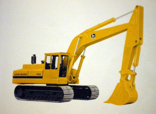JOHN DEERE 990 EXCAVATOR TECHNICAL SERVICE REPAIR MANUAL TM1230
