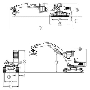 John Deere 330LC 370 Excavator Logger Service Repair Manual Supplement SN: 081001